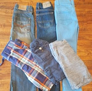 Boys Denim & Shorts bundle.  Size 5-7 Big Kid